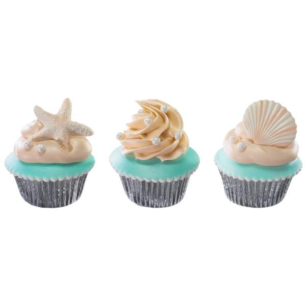 Seashell Assortment Gum Paste Layon
