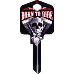 Kool Keys Born to Ride Key Blank