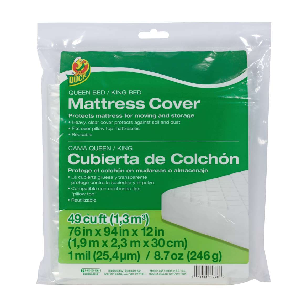 Queen/King Bed Mattress Cover