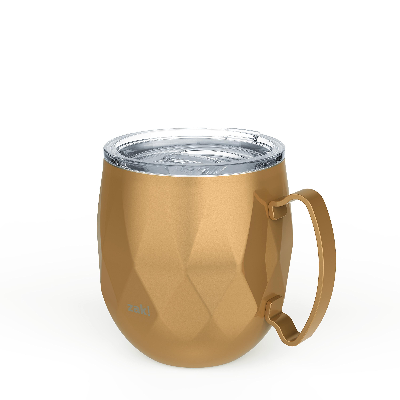 Fractal 19 ounce Mule Mug, Copper slideshow image 3
