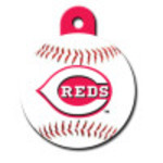 Cincinnati Reds Large Circle Quick-Tag