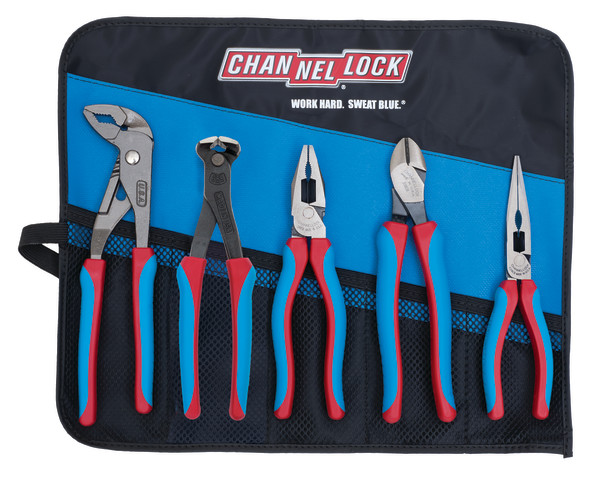 CBR-5E 5pc CODE BLUE® E SERIES™ Pliers Set with Toll Roll
