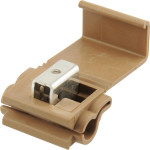 Brown Improved Heavy Duty Self-Stripping Connector (18-14 Wire)