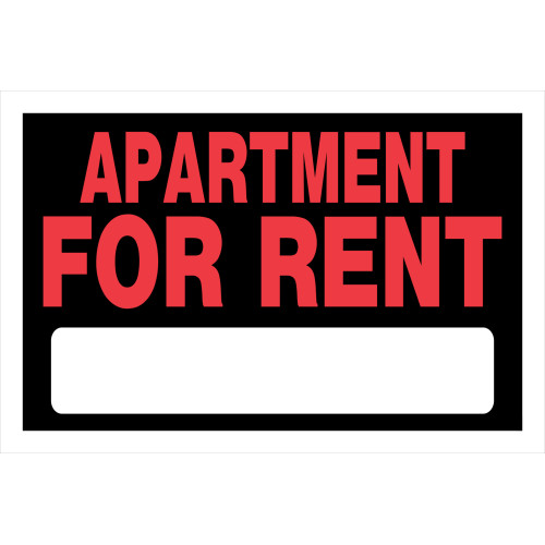 Apartment For Rent Sign (8