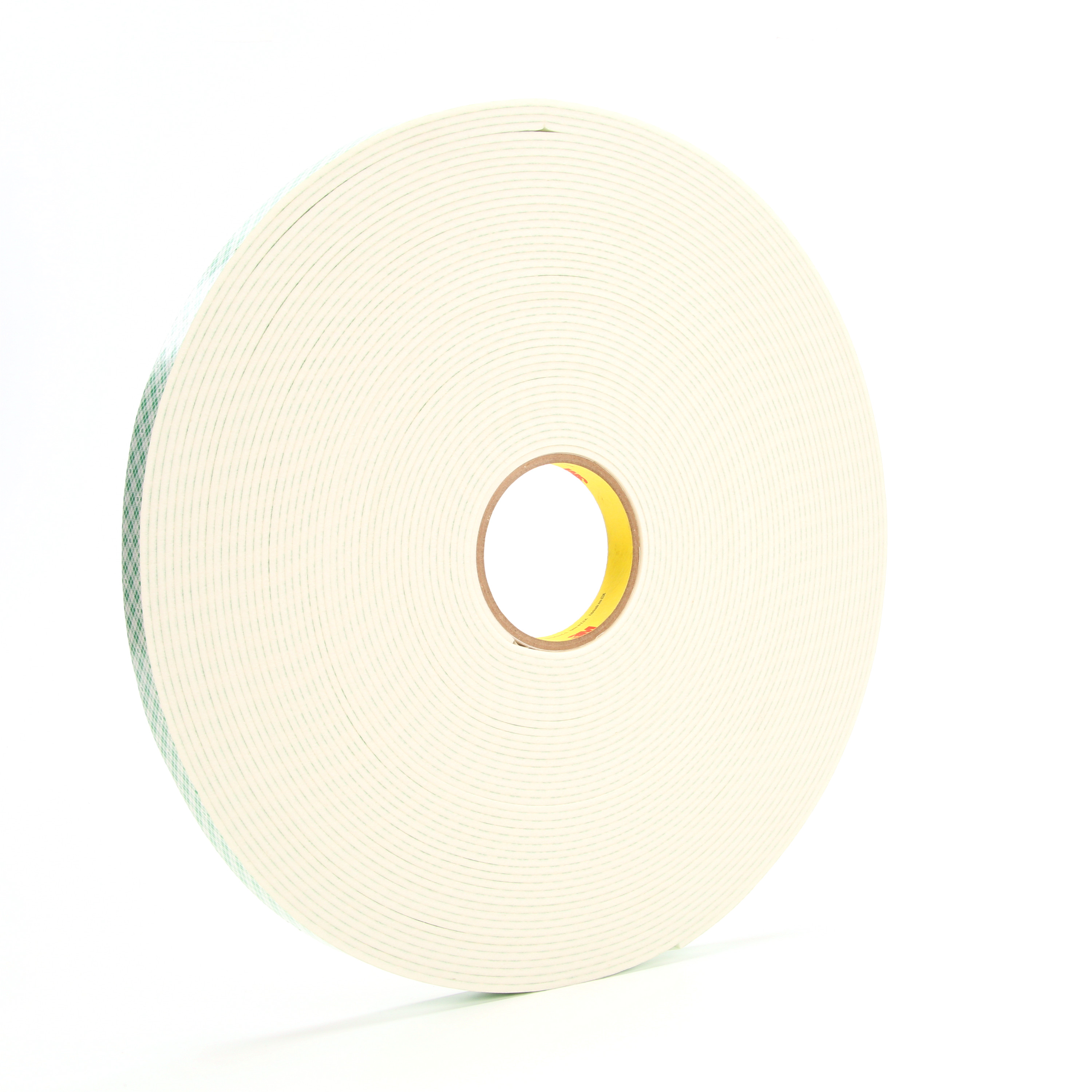 3M™ Double Coated Urethane Foam Tape 4008, Off White, 3/4 in x 36 yd, 125 mil, 12 rolls per case