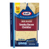 Kraft Smoky Bacon Cheddar Cheese Big Slices 10 slices – 7.5 oz Wrapper