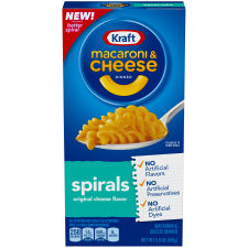 Kraft Spirals Macaroni & Cheese Dinner 5.5 oz Box