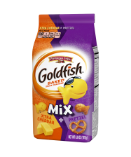 (6 ounces) Pepperidge Farm® Goldfish® Xtra​ Cheddar + Pretzel Mix