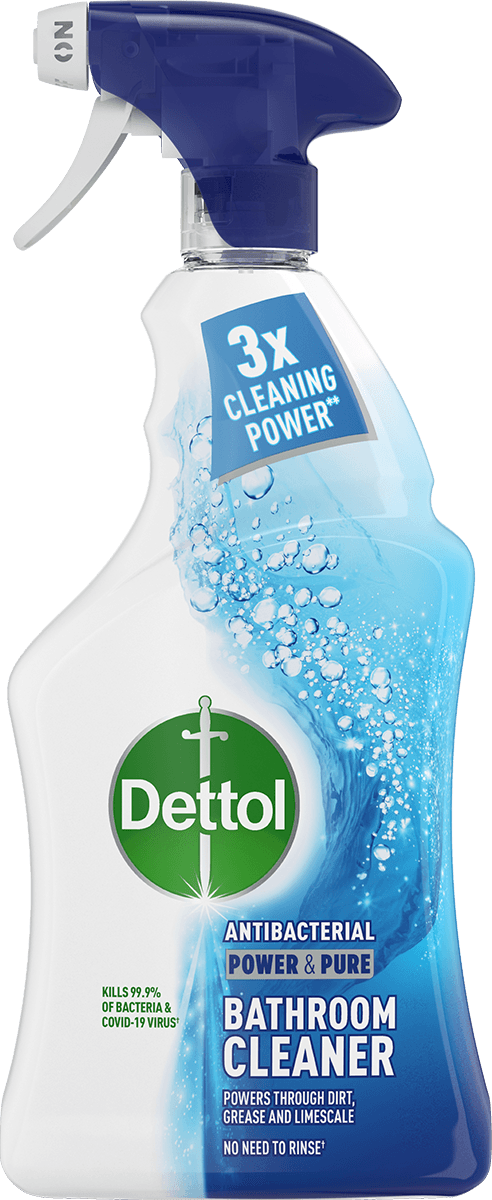Dettol Power & Pure Bathroom Spray