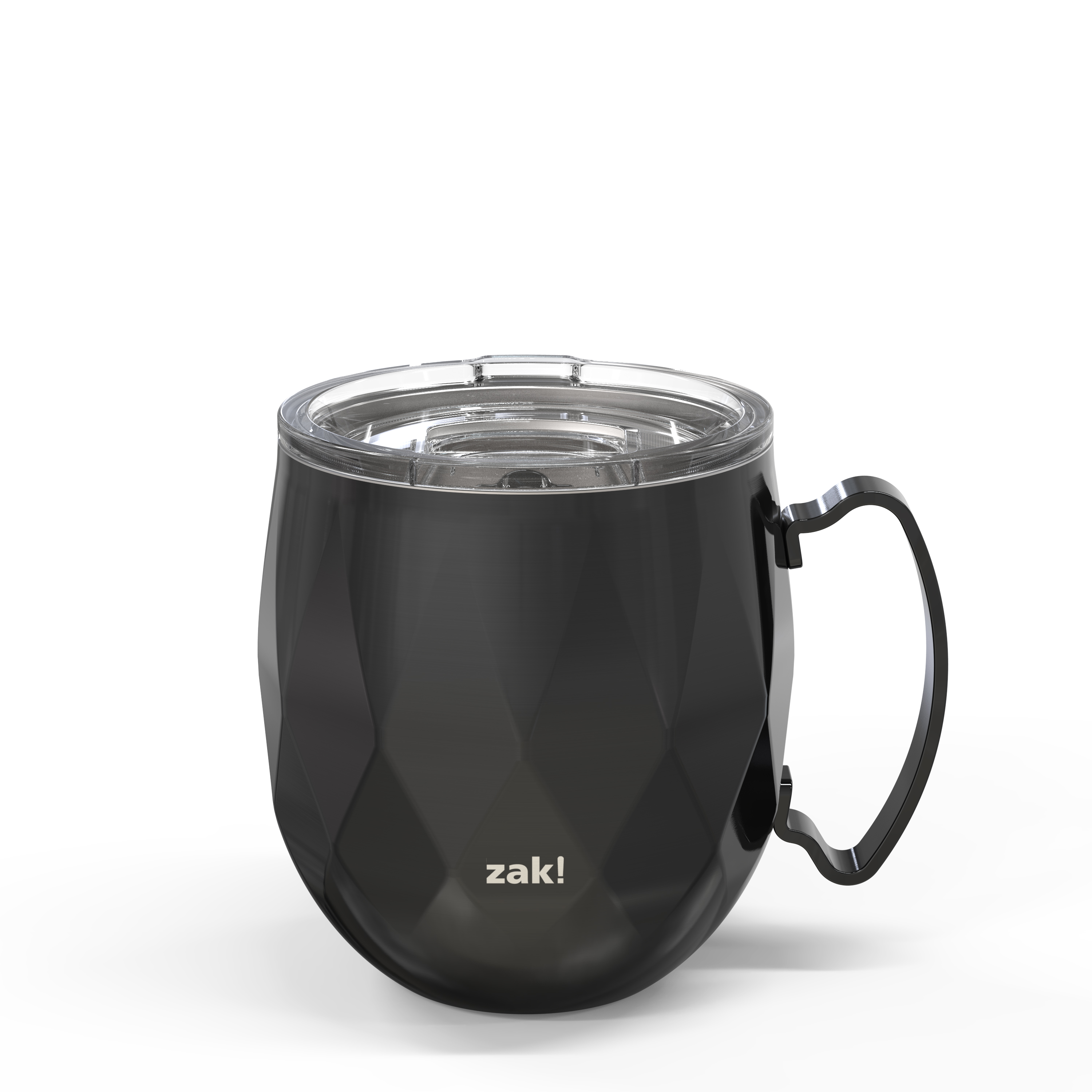 Fractal 19 ounce Vacuum Insulated Stainless Steel Mule Mug, Black image