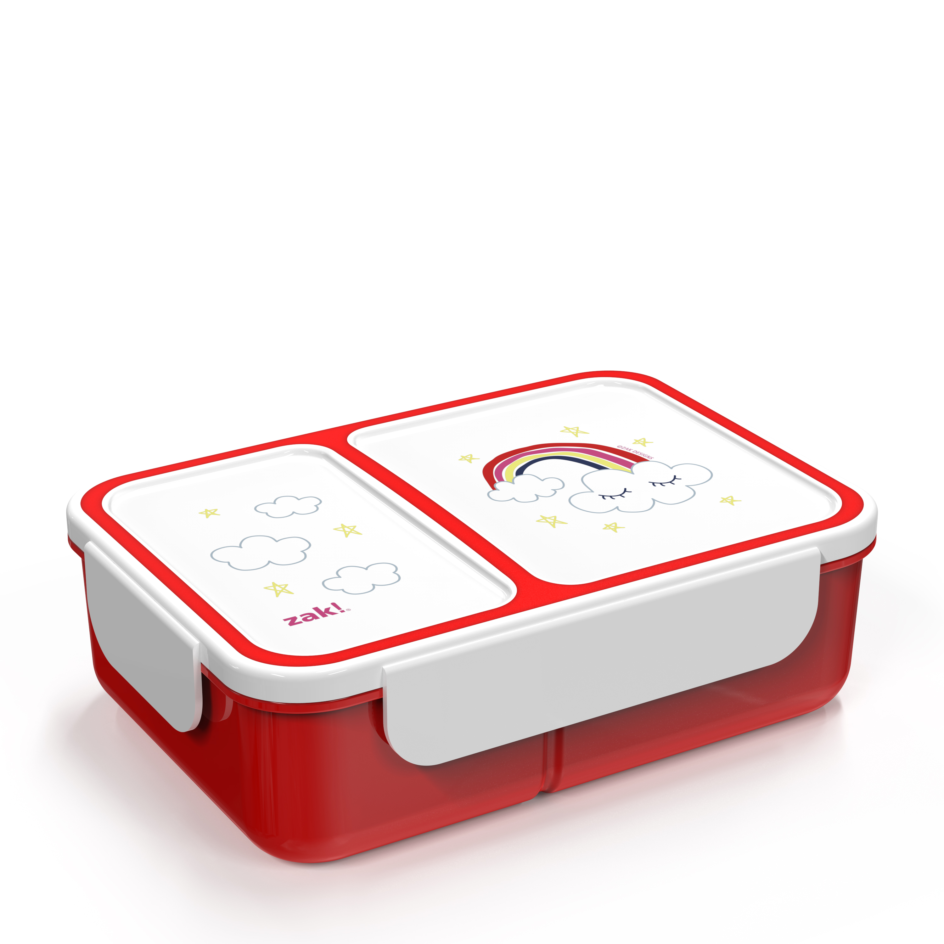 Happy Things Dual-compartment Reusable Bento Box, Clouds slideshow image 2