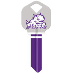 NCAA Texas Christian University Key Blank