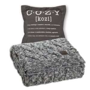 Lodge - Throw Pillow Cozy with Throw Blanket