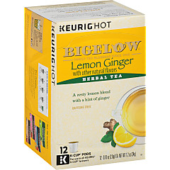 Lemon Ginger K-Cups - Case of 6 boxes - total of 72 k-cups