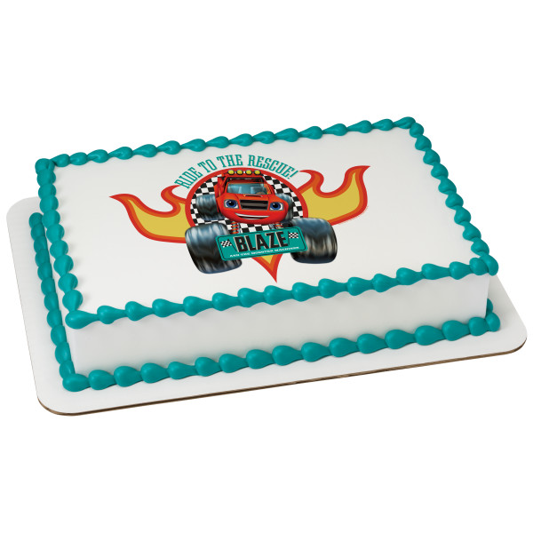 Blaze and the Monster Machines™ Ride to the Rescue! PhotoCake® Edible Image®