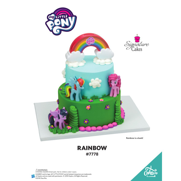 My Little Pony Over the Rainbow Signature Signature DecoSet® The Magic of Cakes® Page