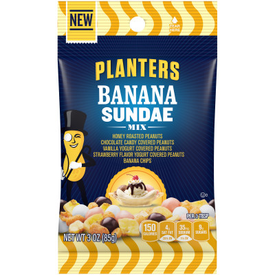 Planters Banana Sundae Mix 3 oz Bag