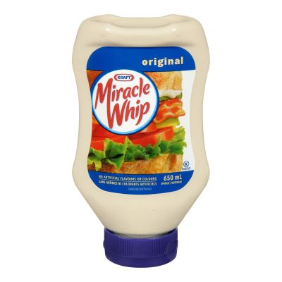 Tartinade Miracle Whip originale