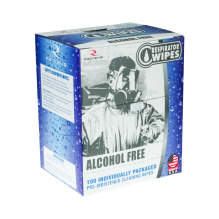 Respirator Wipes Alcohol Free