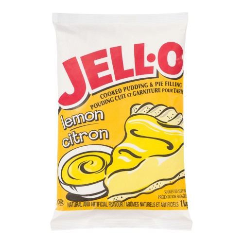 JELL-O Pudding and Pie Filling Lemon 1kg 2