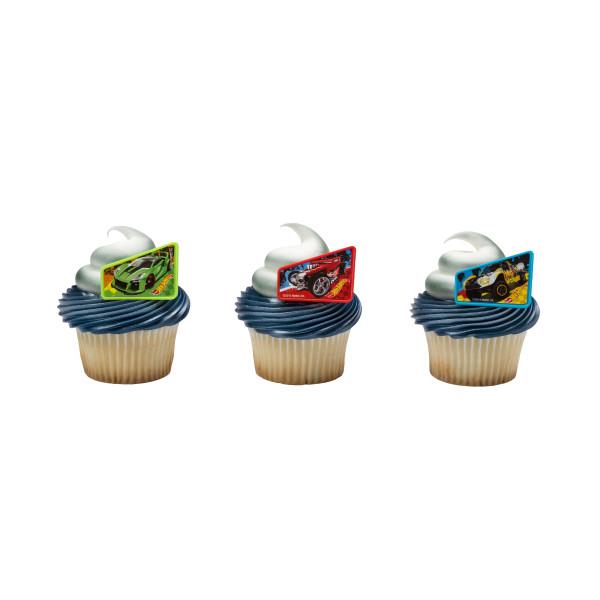 Hot Wheels™ Way 2 Fast Cupcake Rings