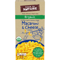 Back to Nature Organic Macaroni & Cheese Dinner 6 oz. Box image