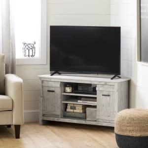 Exhibit - Corner TV Stand, for TVs up to 42''