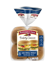 Pepperidge Farm® 100% Whole Wheat Hamburger Buns