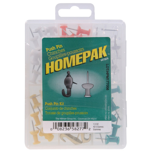 HOMEPAK Push Pin Kit