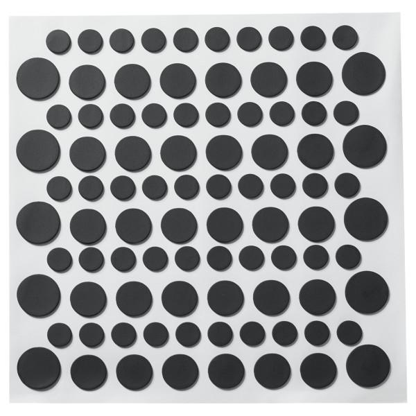 Black Printed Dots Fondant DecoShapes®