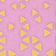 Swatch for Duck Washi® Crafting Tape - Metallic Triangle, 0.75 in. x 15 yd.