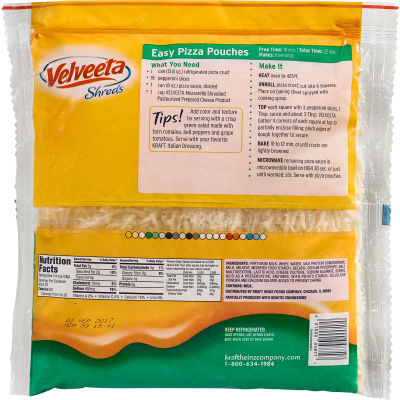 Velveeta Shreds Mozzarella Flavor Cheese 32 oz Bag