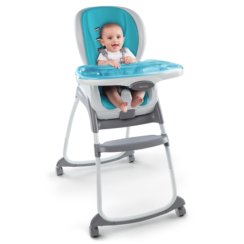 SmartClean Trio 3-in-1 High Chair - Aqua
