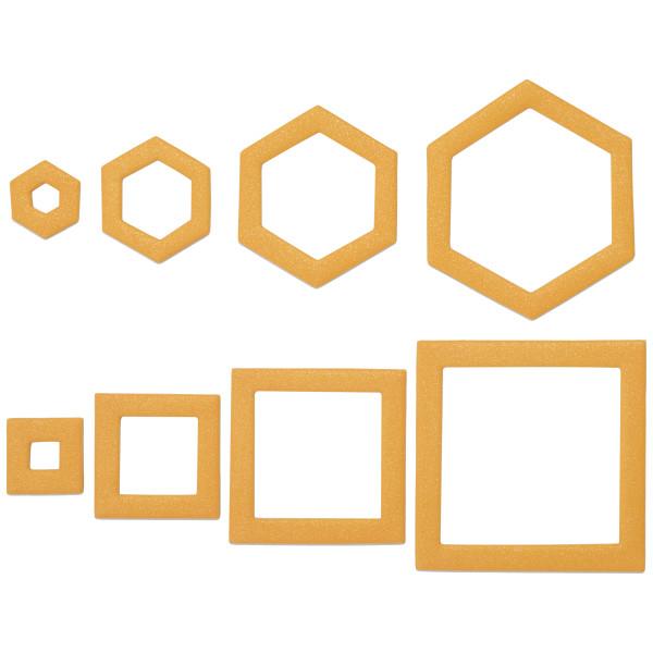 Geometric Kit Sweet Décor™ Edible Decorations