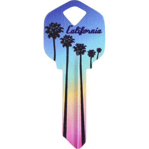 State of California Key Blank