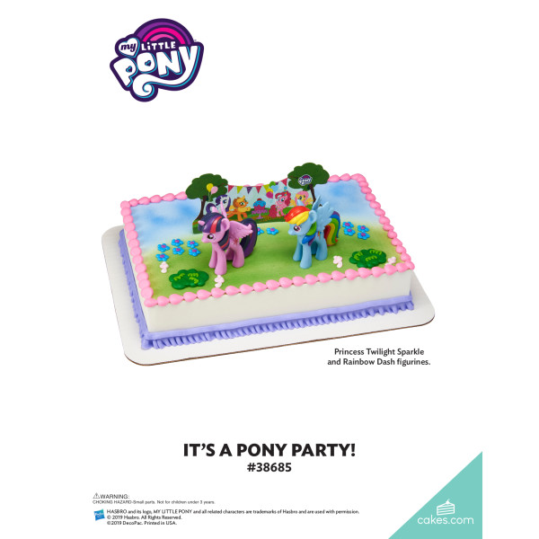 My Little Pony™ It's a Pony Party! DecoSet® The Magic of Cakes® Page