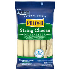 Polly-O Low-Moisture Part-Skim Mozzarella String Cheese 12 oz