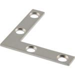 Hardware Essentials Stainless Steel Flat Corner Iron