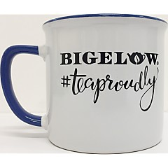 White/Blue #TeaProudly Mug