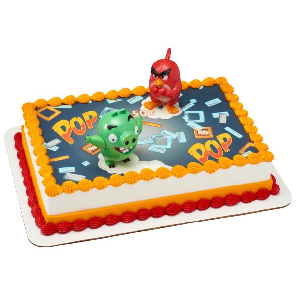Angry Birds™ Red Bird & Bad Piggy PhotoCake® Edible Image® DecoSet® Background