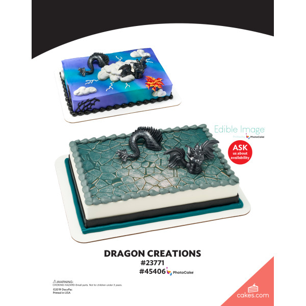Dragon Creations DecoSet® The Magic of Cakes® Page