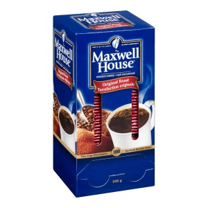 MAXWELL HOUSE Single Serve Original Roast Instant Coffee 1.6g 100 units 5 boxes image