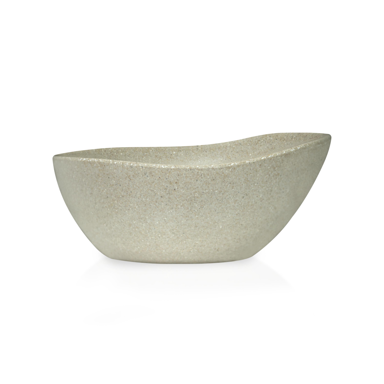 Elements Serving Tray and Bowl Set, White, 4-piece set slideshow image 6