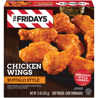 TGI Friday's Crispy Buffalo Style Chicken Wings 15 oz Box