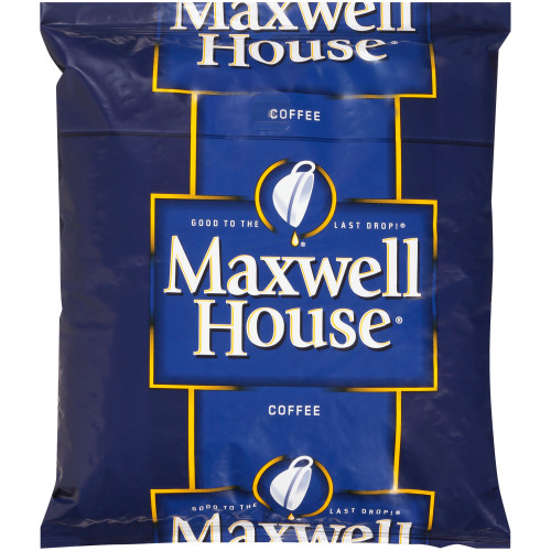 MAXWELL HOUSE Regular Roast Whole Beans, 2 Lb. Bag (Pack of 12)