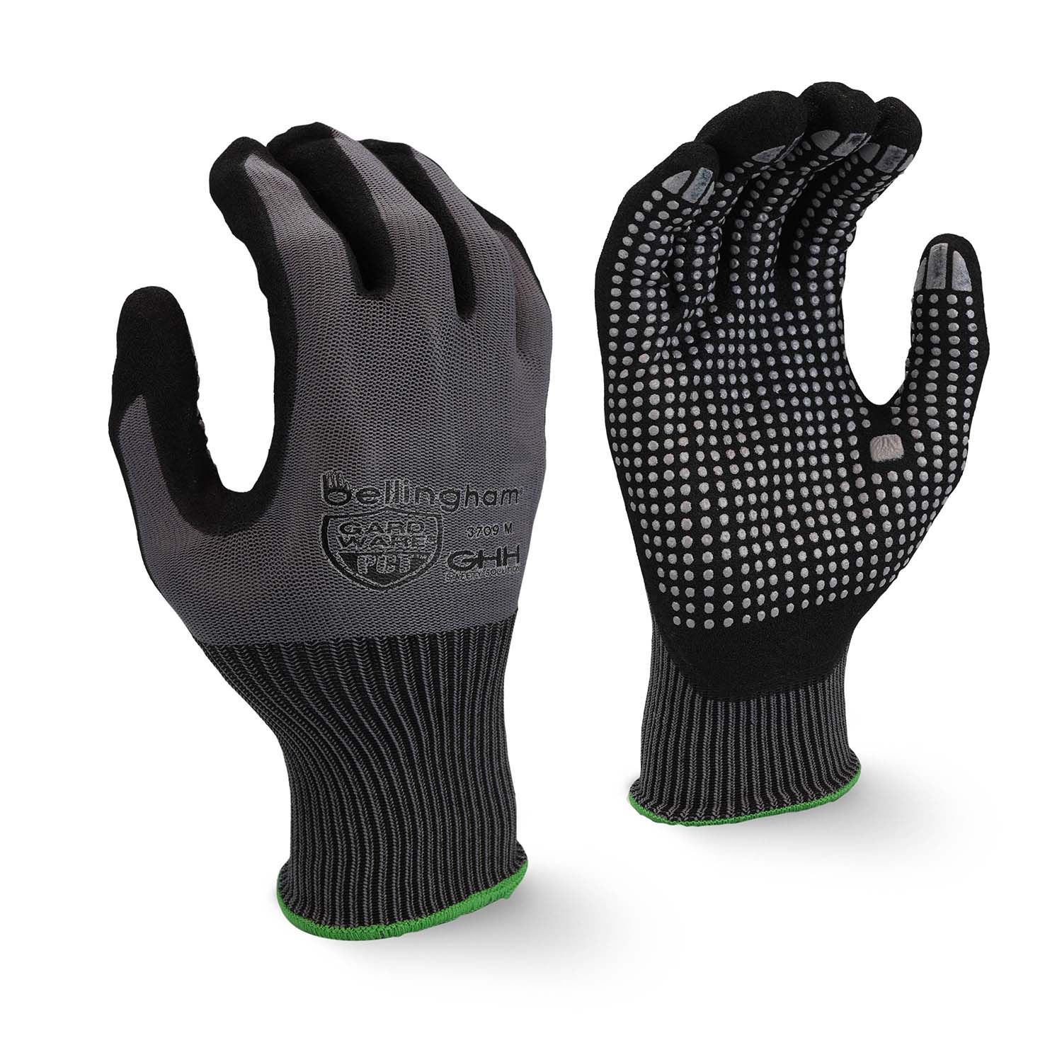 Bellingham Glove 3709 Oil-proof Durability PCT™ Palm Plus Dots Glove