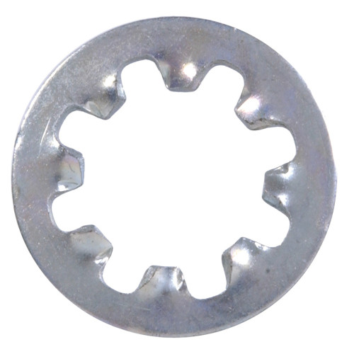 Zinc-Plated Internal Tooth Lock Washer #8
