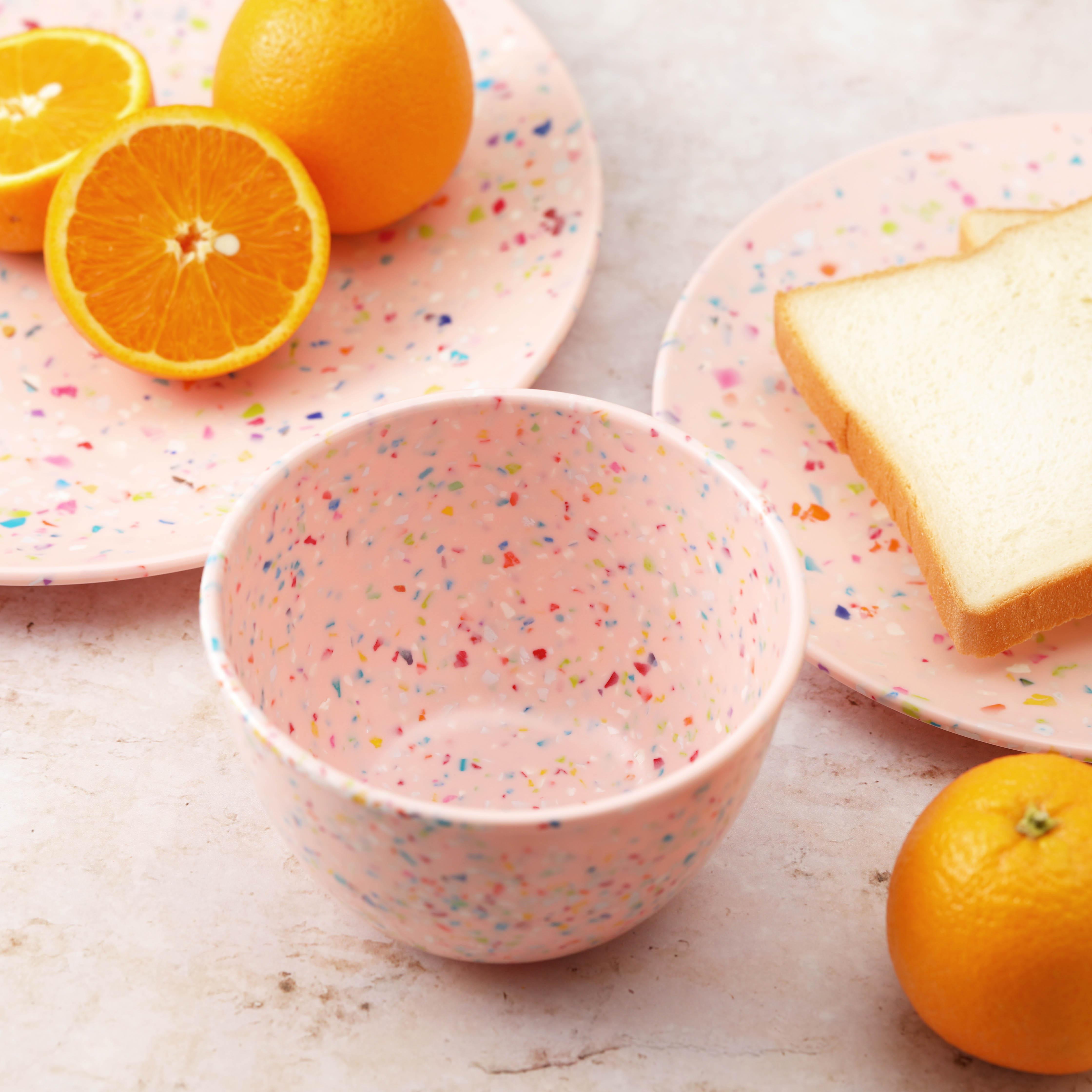 Confetti Dinnerware Set, Multicolored, 12-piece set slideshow image 3