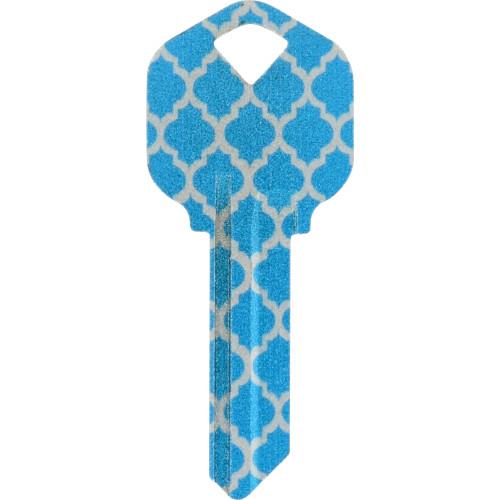 Metallic Moroccan Key Blank Kwikset/66 KW1