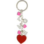 Love Dangling Charm Key Chain